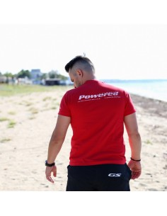 Red T-Shirt «Powered By GS»
