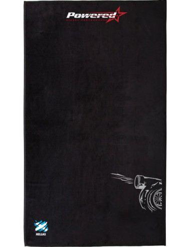 "Black Sea Towel ""Powered GS"" 100x150cm."