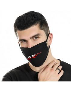 """Black cotton protection masks """"GS"""" (4 pieces)"""